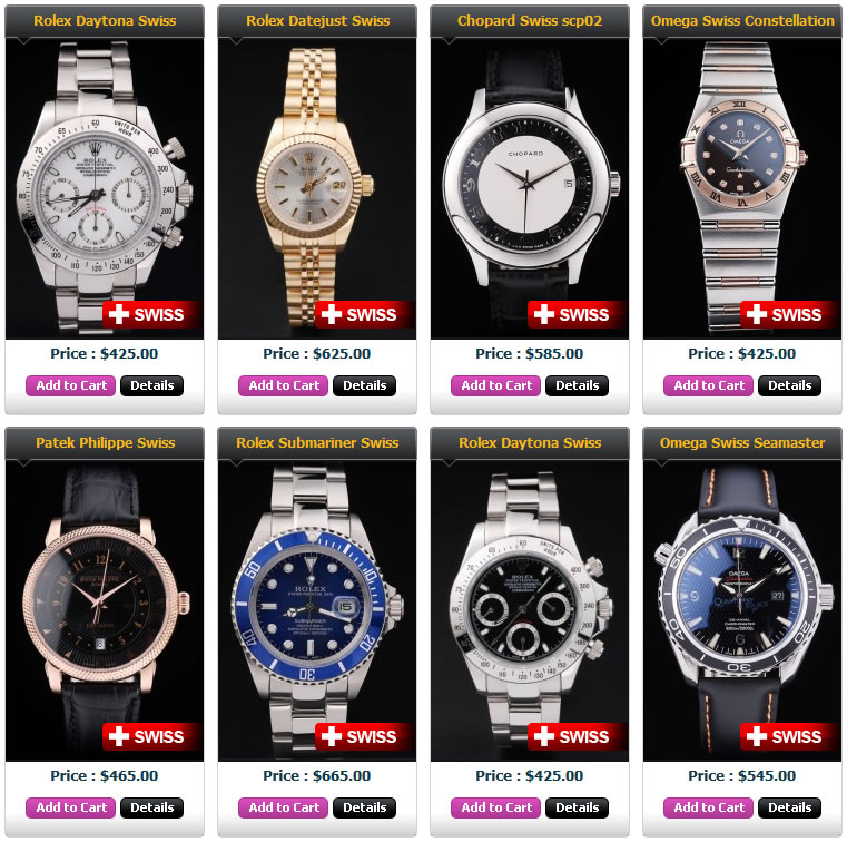 ea0c56feb3e Swiss Made Replica Watches • Rolex TAG Heuer  ®
